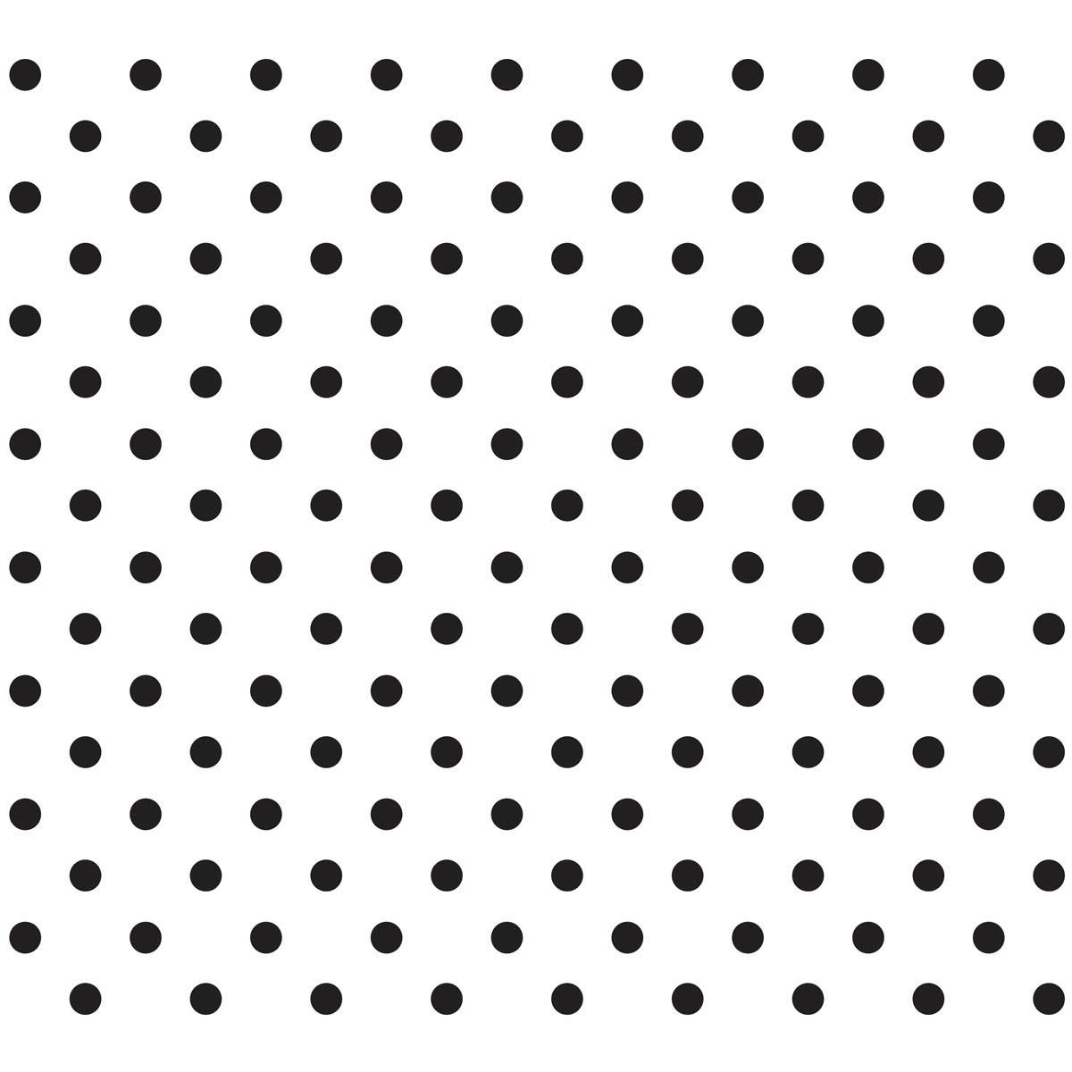 Waverly ® Inspirations Laser Stencils - Accent - Polka Dot, 6