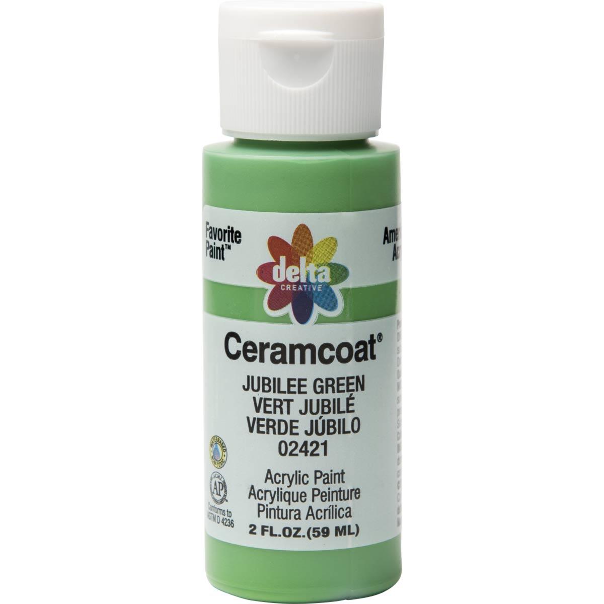 Delta Ceramcoat ® Acrylic Paint - Jubilee Green, 2 oz.