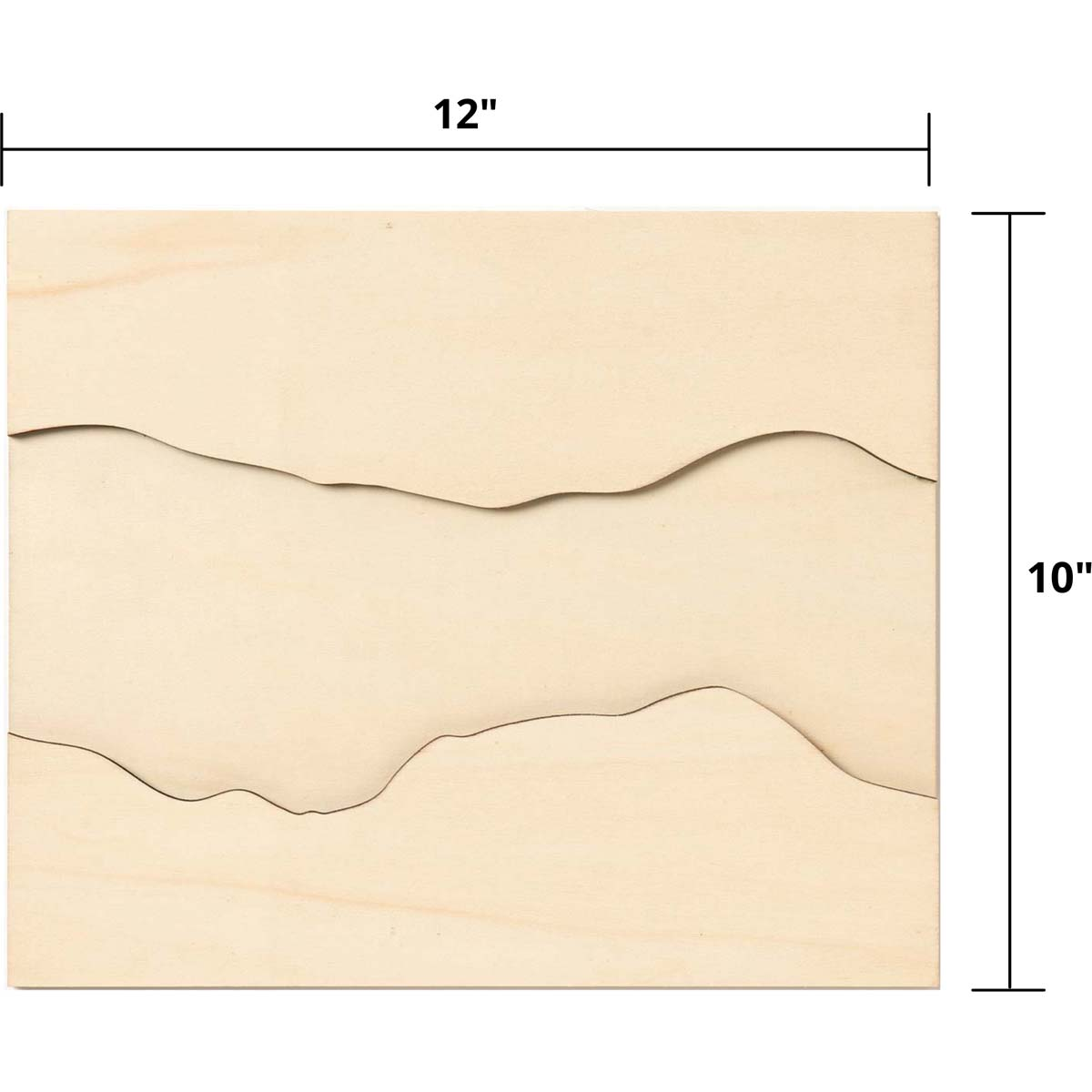 Mod Podge ® Resin Pouring Surface - River Plaque - 56646E