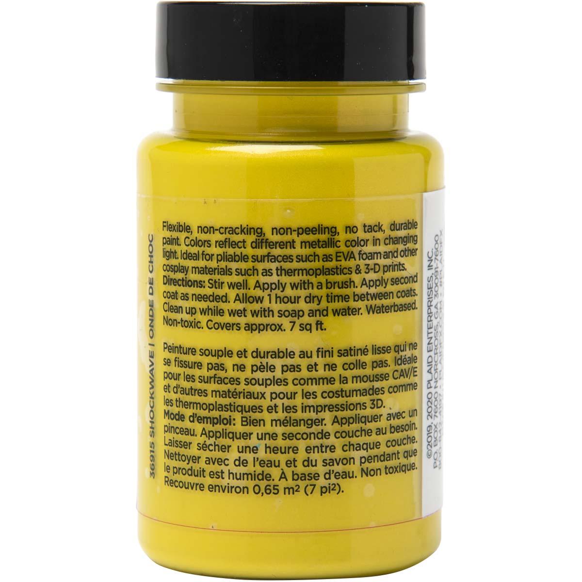 PlaidFX Mutant Shift Flexible Acrylic Paint - Shockwave, 3 oz. - 36915