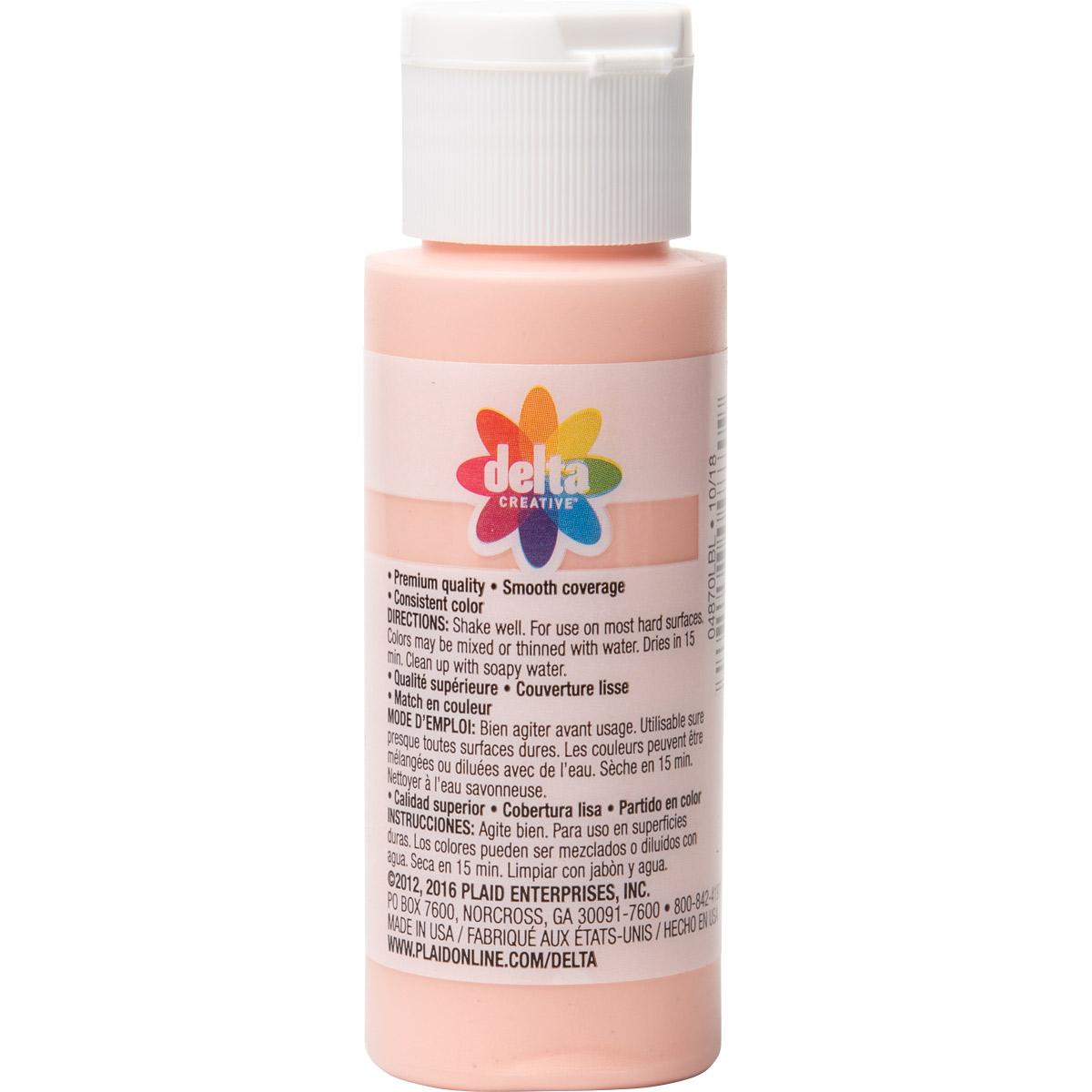 Delta Ceramcoat ® Acrylic Paint - Calypso Coral, 2 oz. - 04870