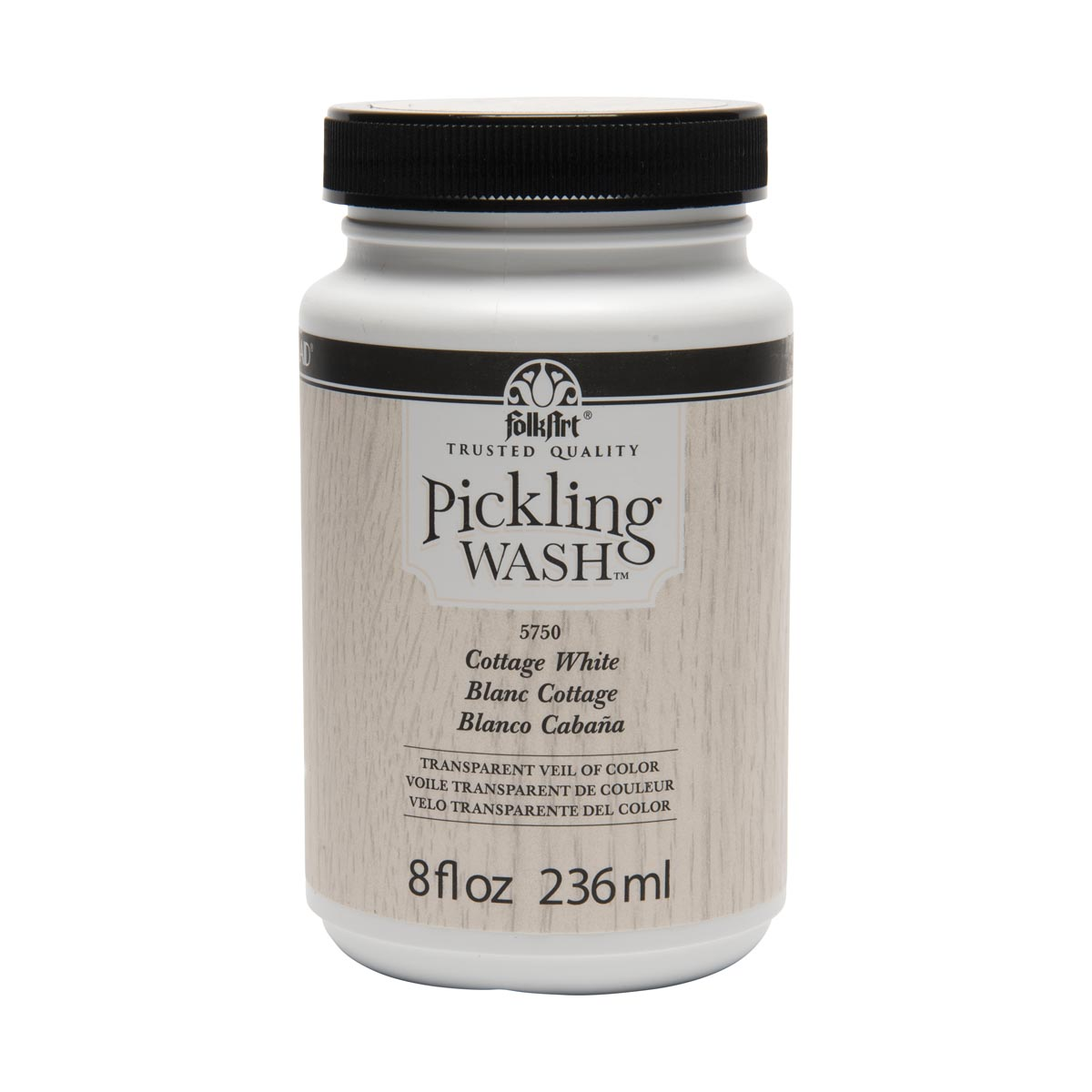 FolkArt ® Pickling Wash™ - Cottage White, 8 oz.