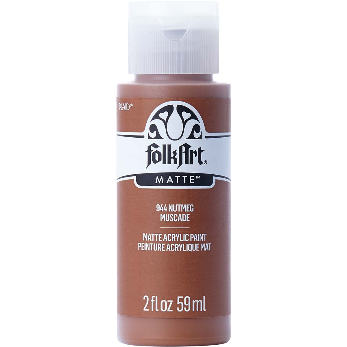 FolkArt ® Acrylic Colors - Nutmeg, 2 oz. - 944