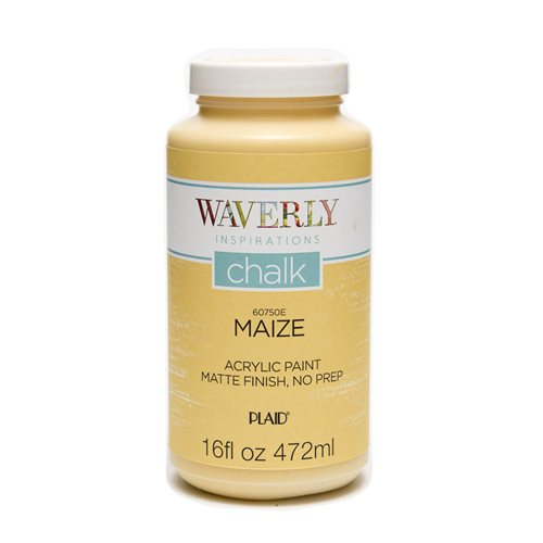 Waverly ® Inspirations Chalk Finish Acrylic Paint - Maize, 16 oz. - 60750E