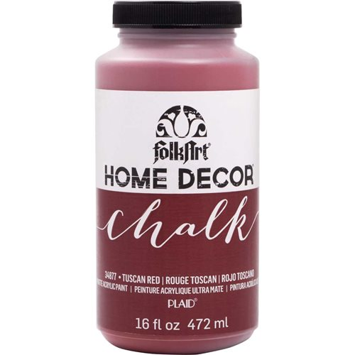 FolkArt ® Home Decor™ Chalk - Tuscan Red, 16 oz.