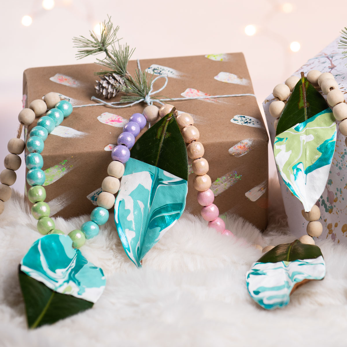 Sparkle Beaded Garland