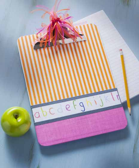 Easy Handmade Clipboard Teacher Gift - Project | Plaid Online
