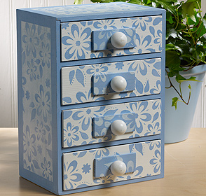 Debbie's Floral Jewelry Box