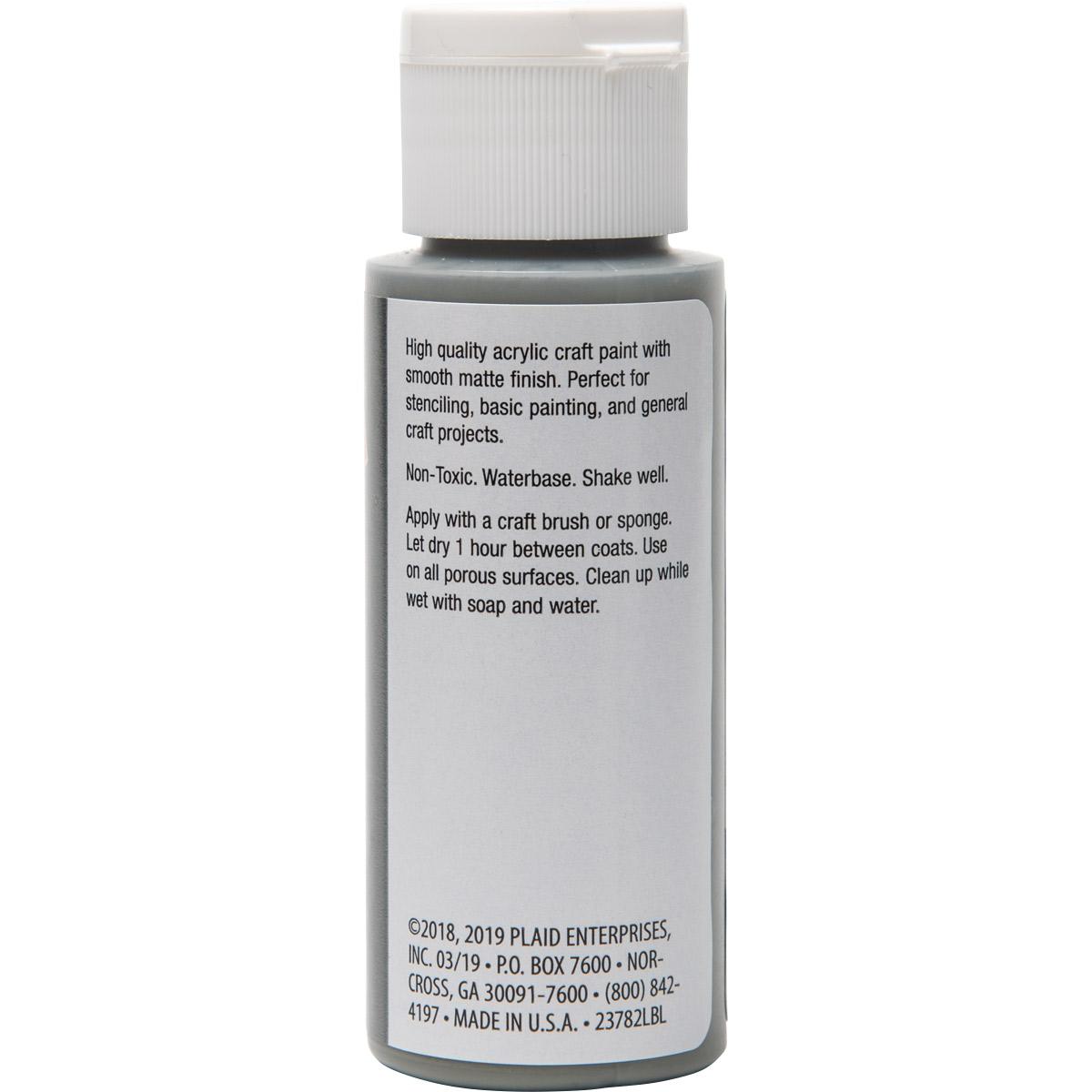 Plaid ® Painter's Palette™ Acrylic Paint - Gray, 2 oz.