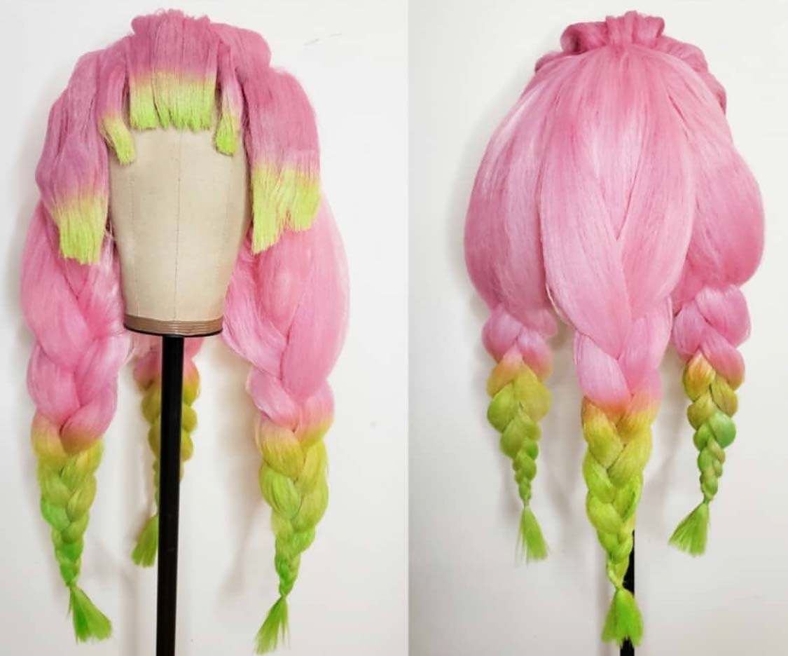 Airbrushed Wigs