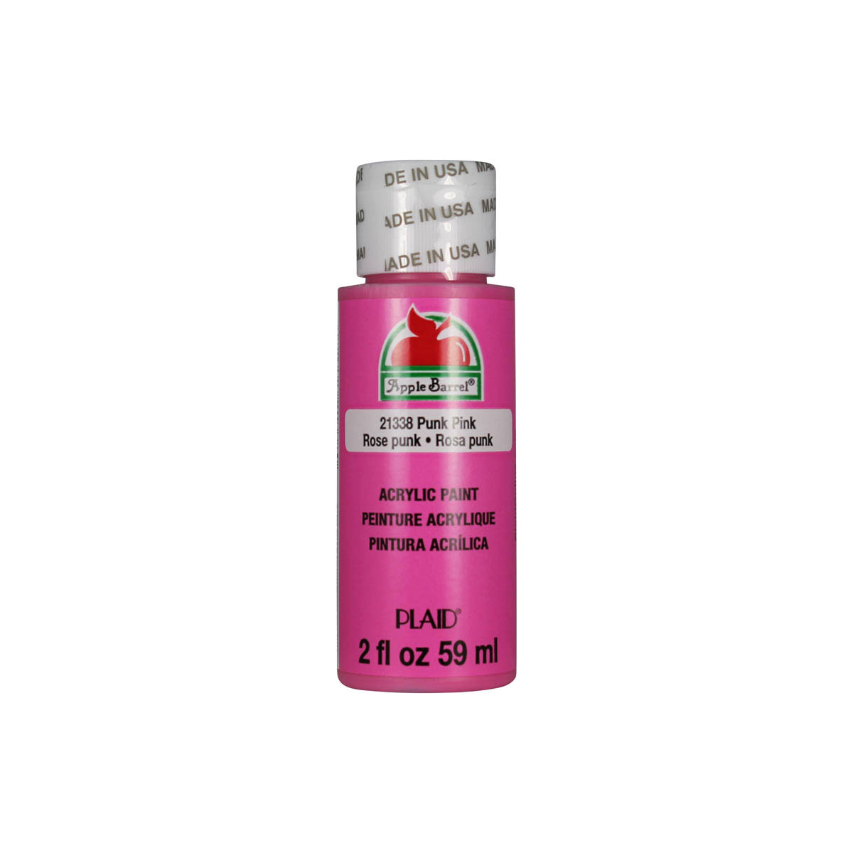 Apple Barrel ® Colors - Punk Pink, 2 oz.
