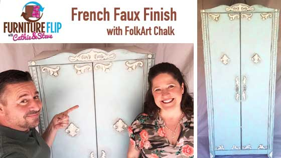 Furniture Flip - French Vintage Armoire