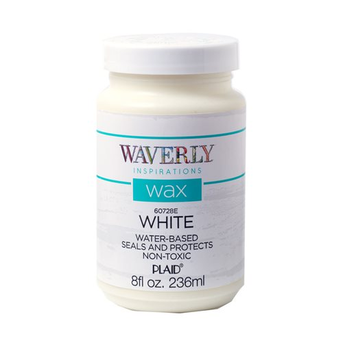 Waverly ® Inspirations Wax - White, 8 oz. - 60728E