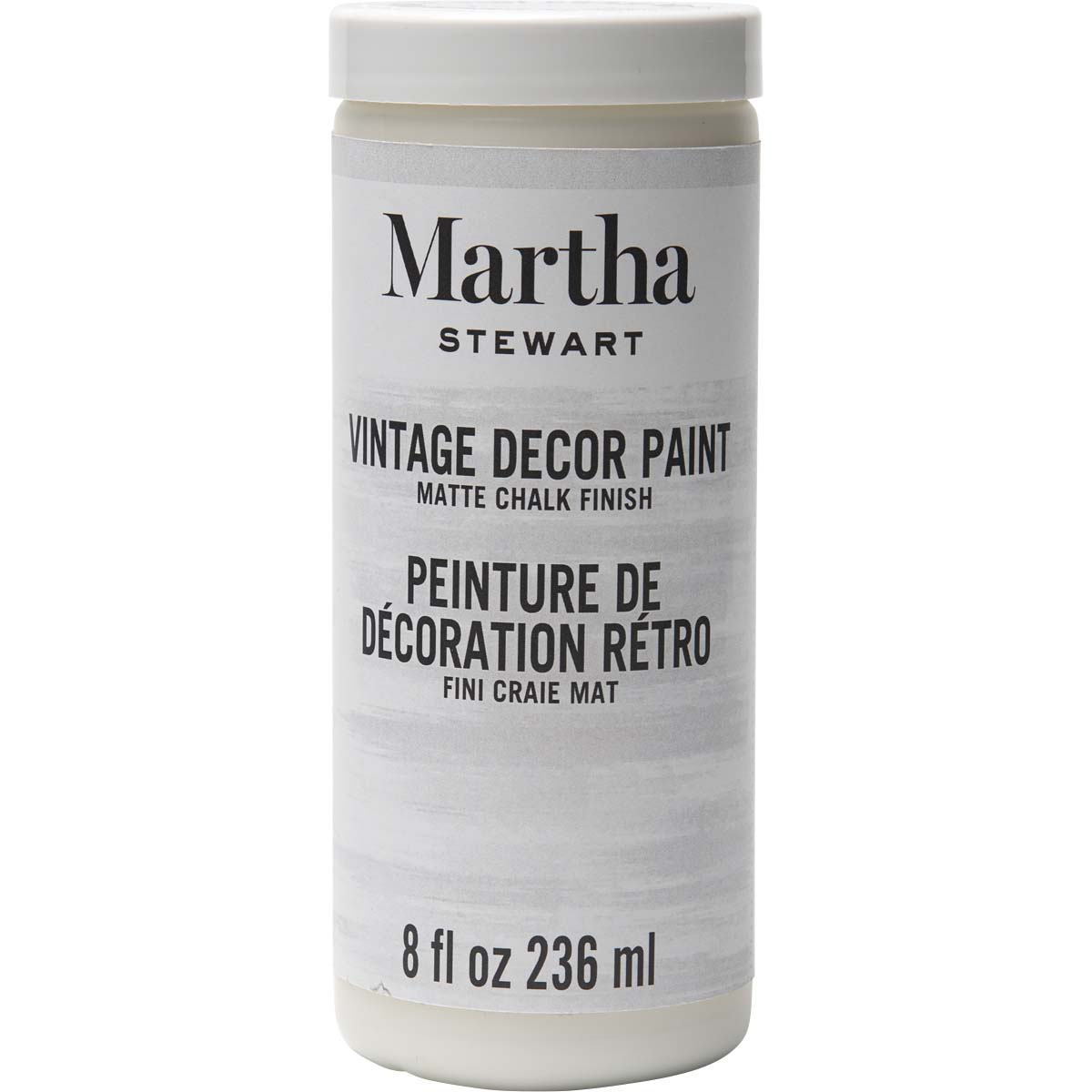 Martha Stewart ® Vintage Decor Matte Chalk Acrylic Paint - Wedding Cake, 8 oz.