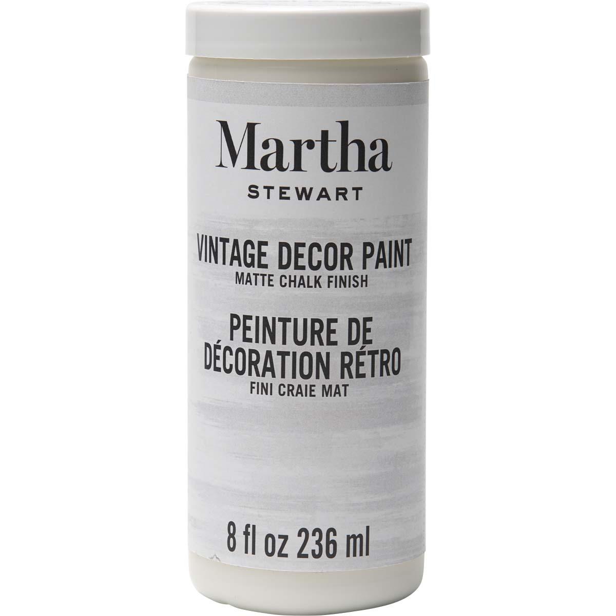 Martha Stewart® 8oz Vintage Décor Matte Chalk Acrylic Paint - Wedding Cake