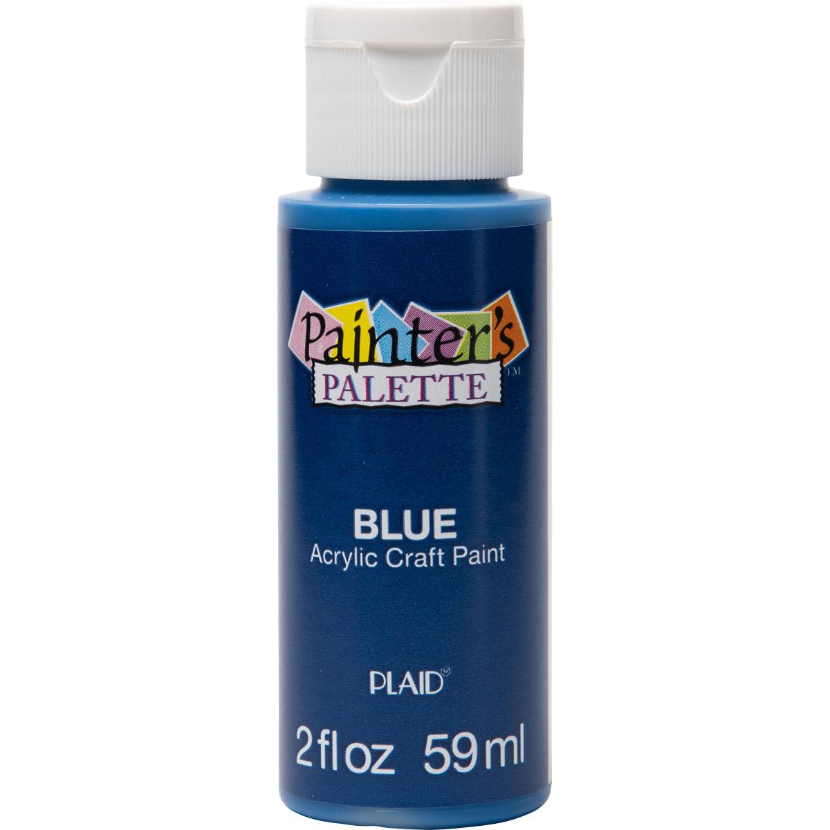 Plaid ® Painter's Palette™ Acrylic Paint - Blue, 2 oz.