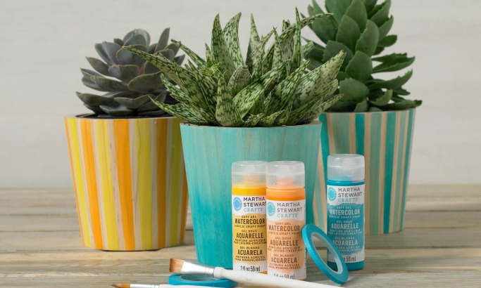 New Martha Stewart Watercolor, Marbling and More at Michaels!