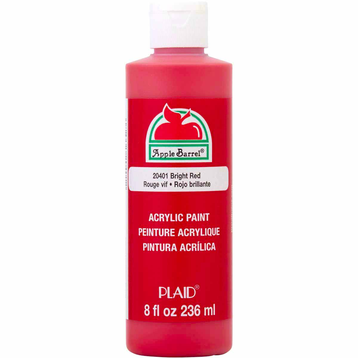 Apple Barrel ® Colors - Bright Red, 8 oz. - j20401