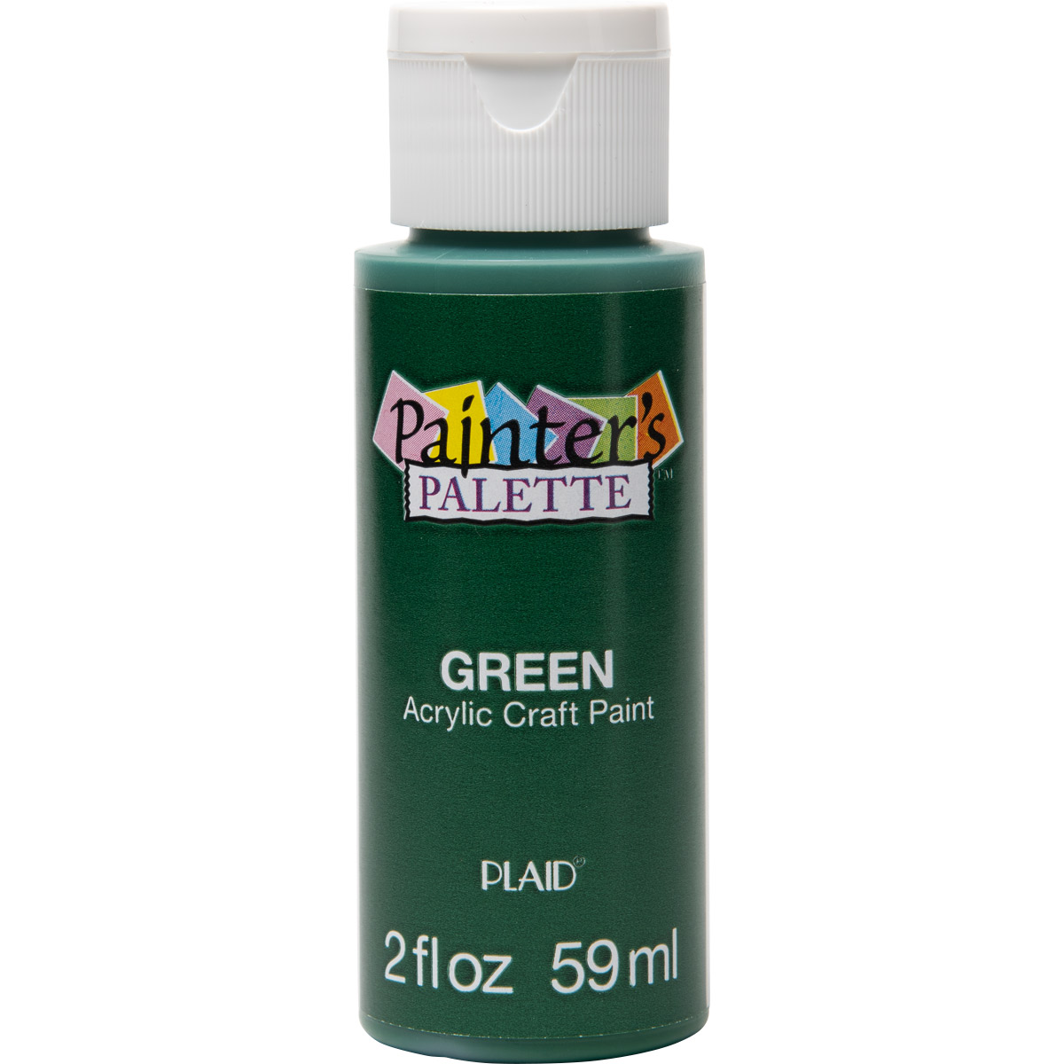 Plaid ® Painter's Palette™ Acrylic Paint - Green, 2 oz. - 23786