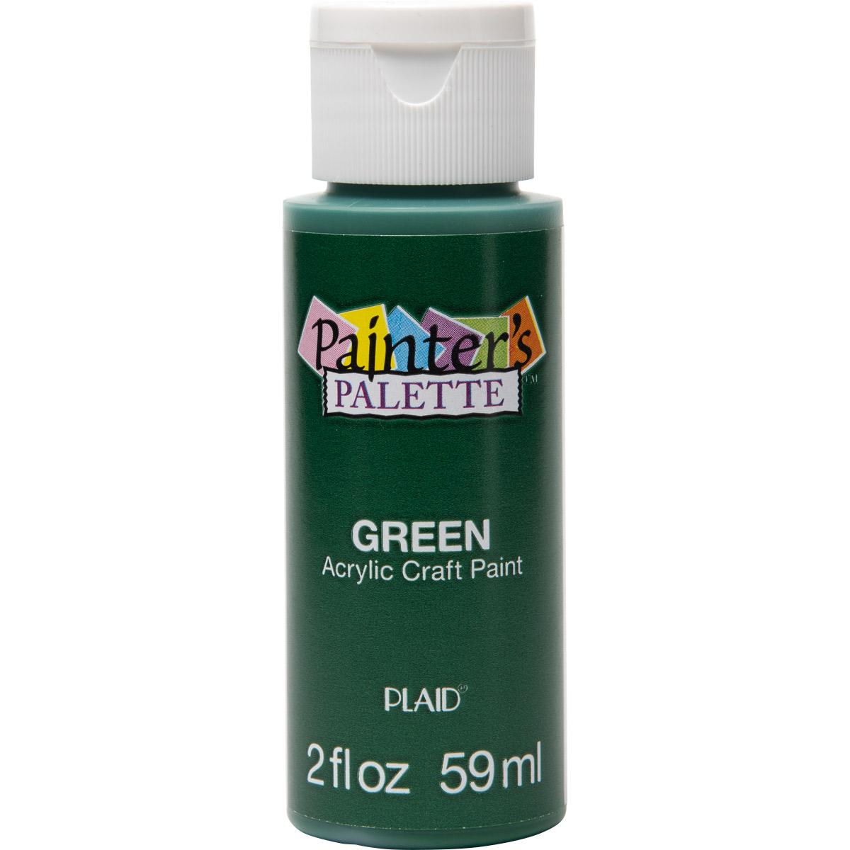 Plaid ® Painter's Palette™ Acrylic Paint - Green, 2 oz.