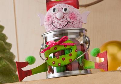 Claus & Company Elf Treat Bucket
