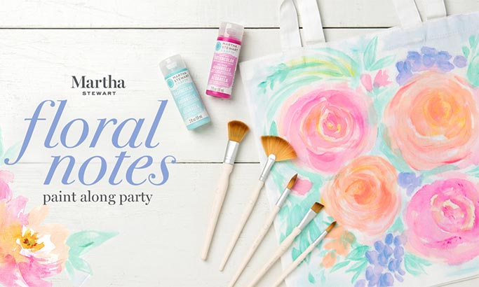 Watercolor Paint Along Party