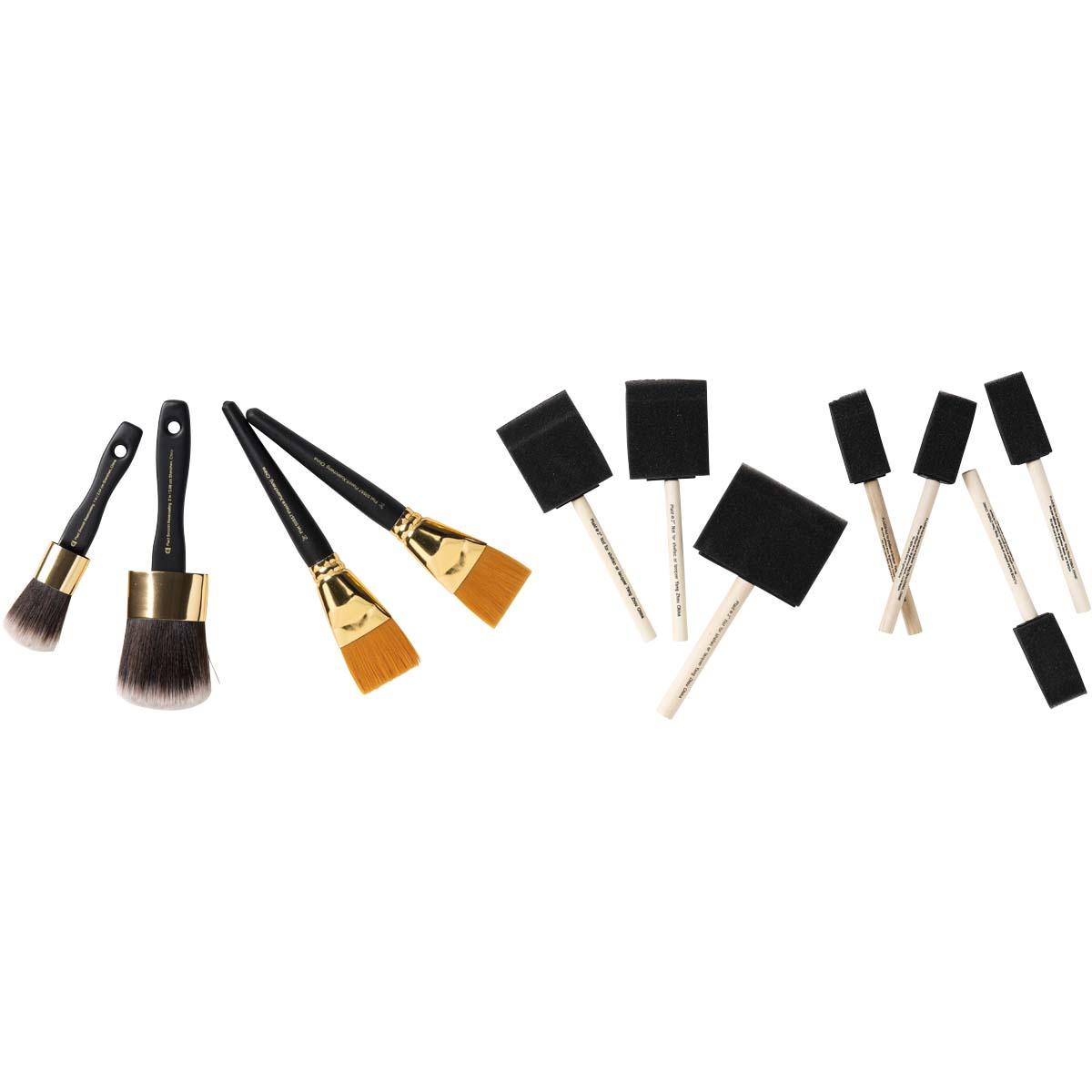 FolkArt ® One Stroke™ Brushes - Brush Sets - Basecoaters - 90196