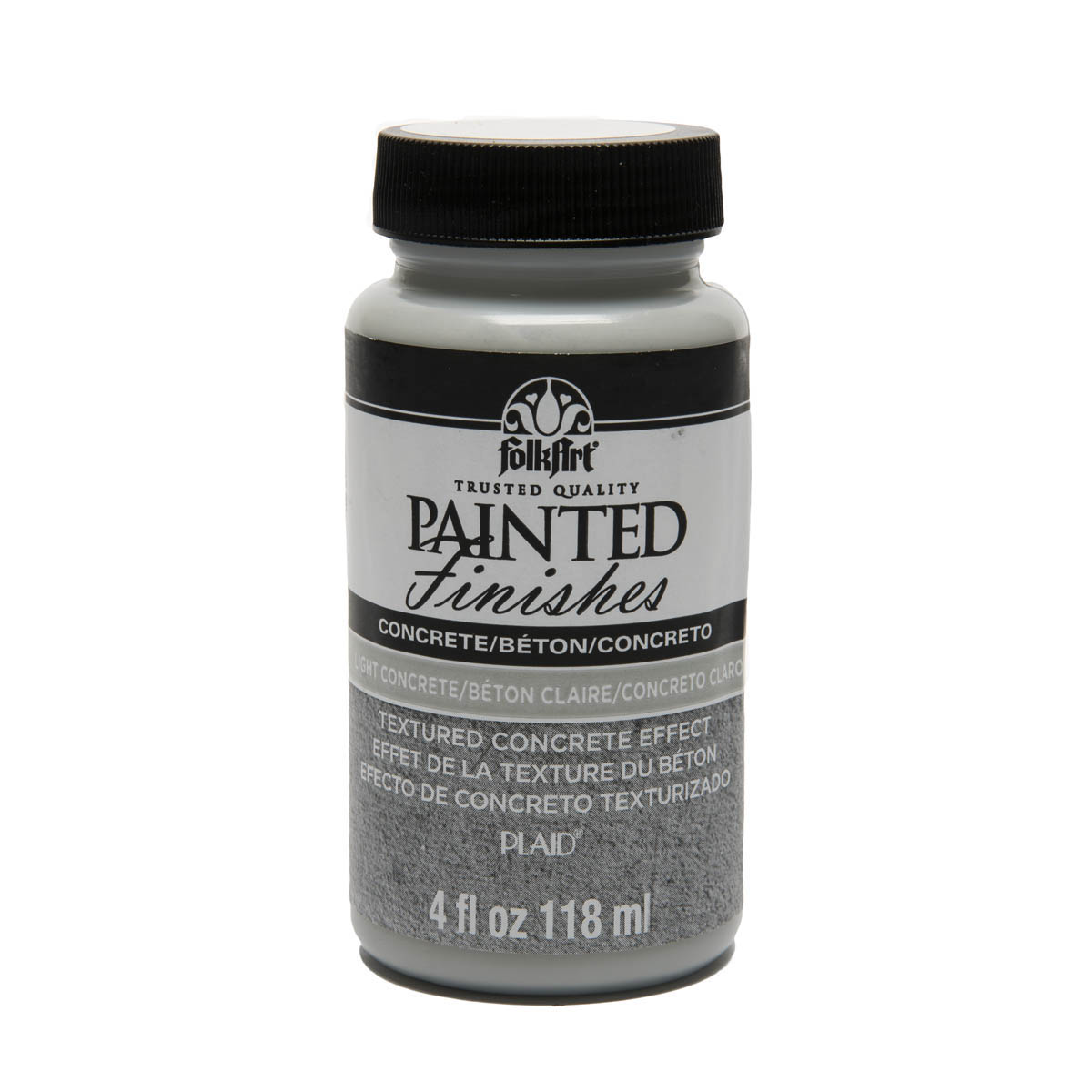 F/A PAINTED FINISHES - LIGHT CONCRETE 4 OZ.