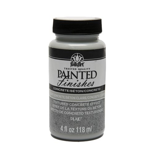 FolkArt ® Painted Finishes - Light Concrete, 4 oz.
