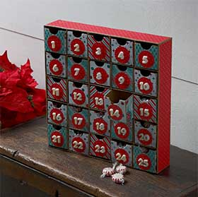 Cute Christmas Countdown Calendar