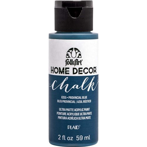 FolkArt ® Home Decor™ Chalk - Provincial Blue, 2 oz. - 6355