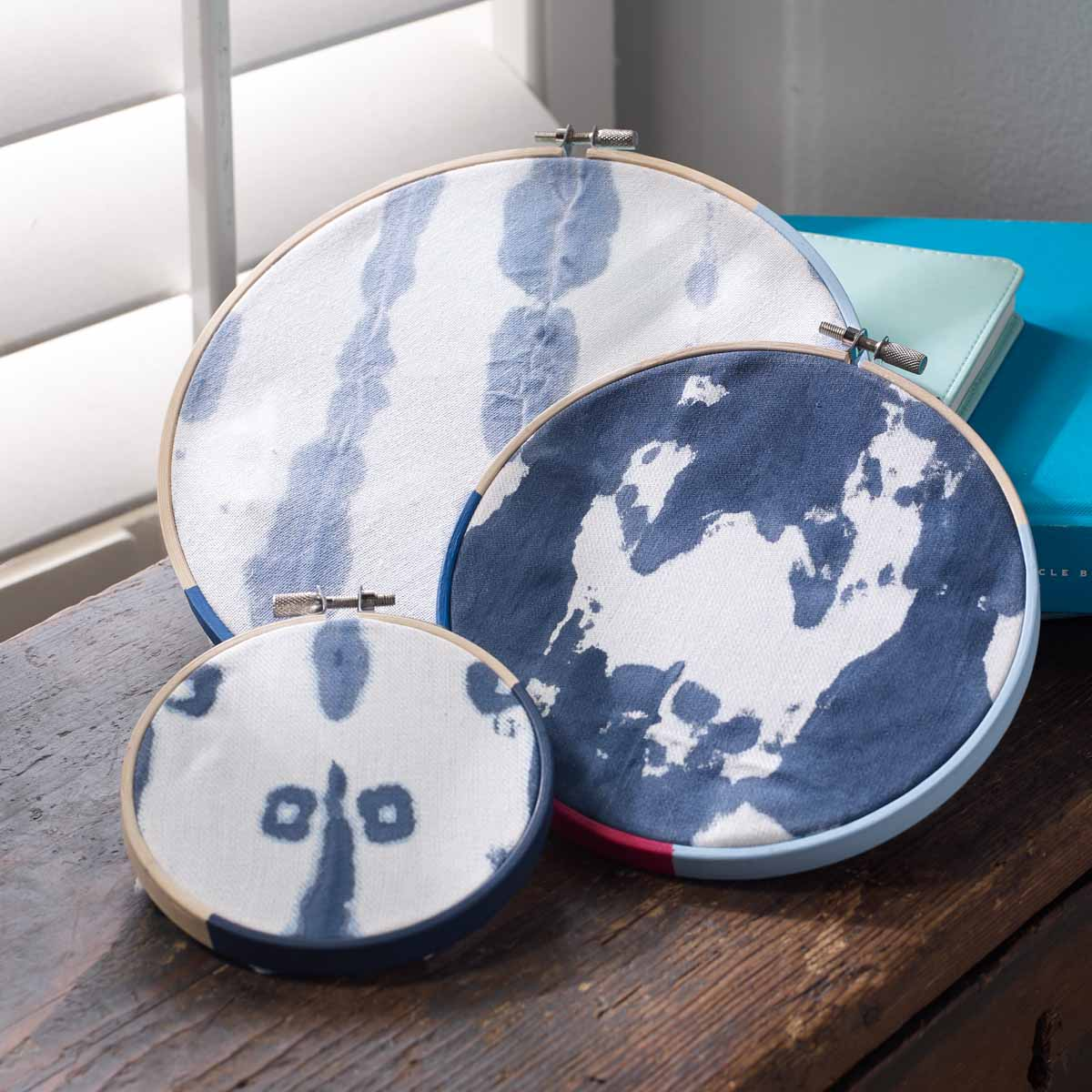 Shibori-Inspired DIY Decor