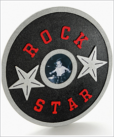 Rock Star Record Frame