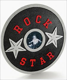 Rock Star Record Frame