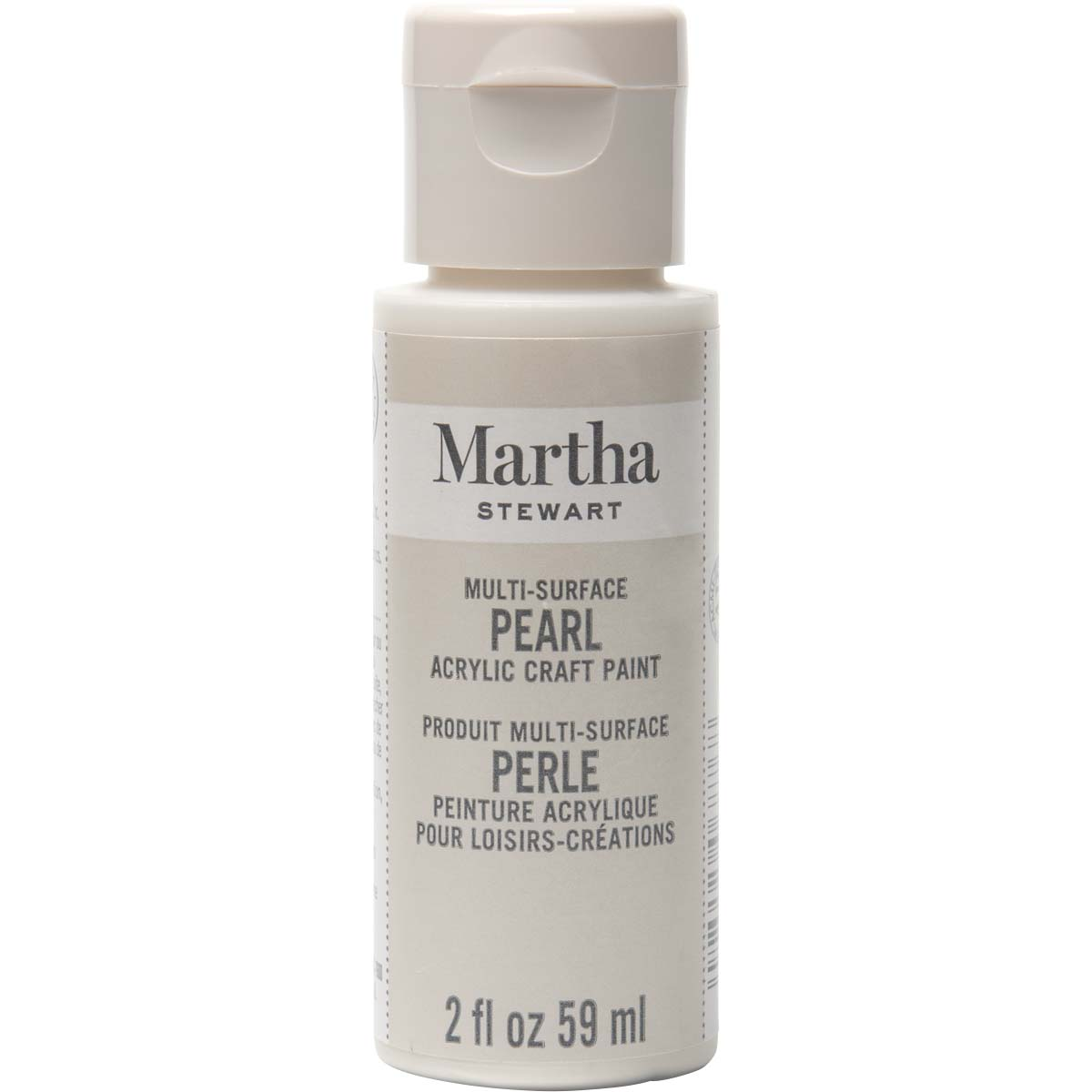 Martha Stewart ® Multi-Surface Pearl Acrylic Craft Paint - Mother of Pearl, 2 oz. - 32127CA