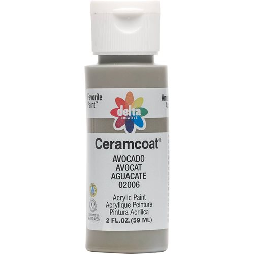 Delta Ceramcoat ® Acrylic Paint - Avacado, 2 oz.