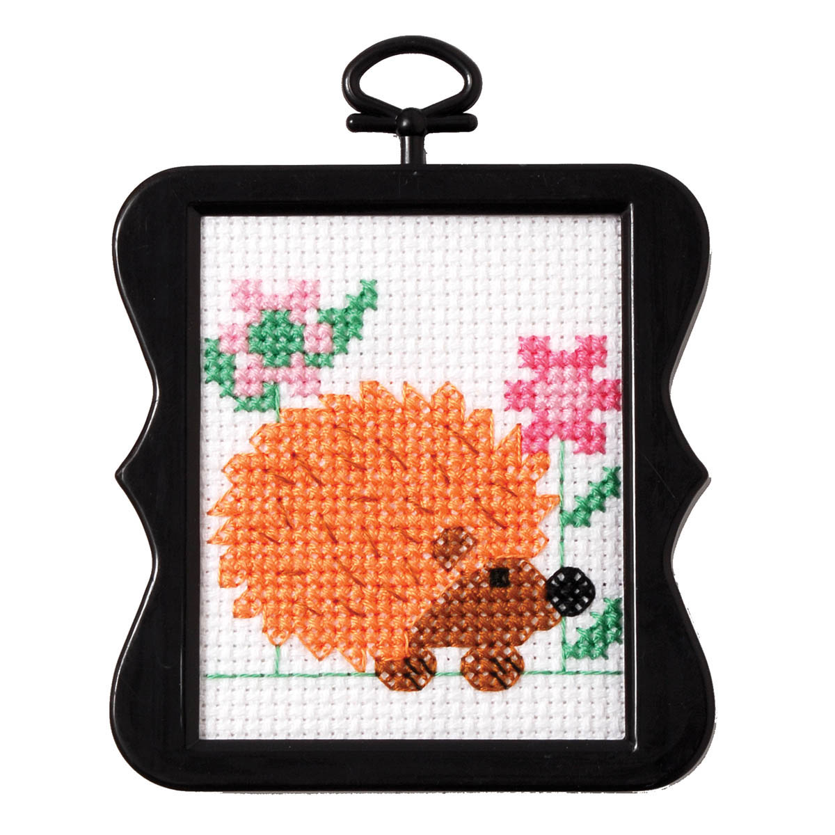 Bucilla ® Counted Cross Stitch - Beginner Stitchery - Mini - Hedgehog