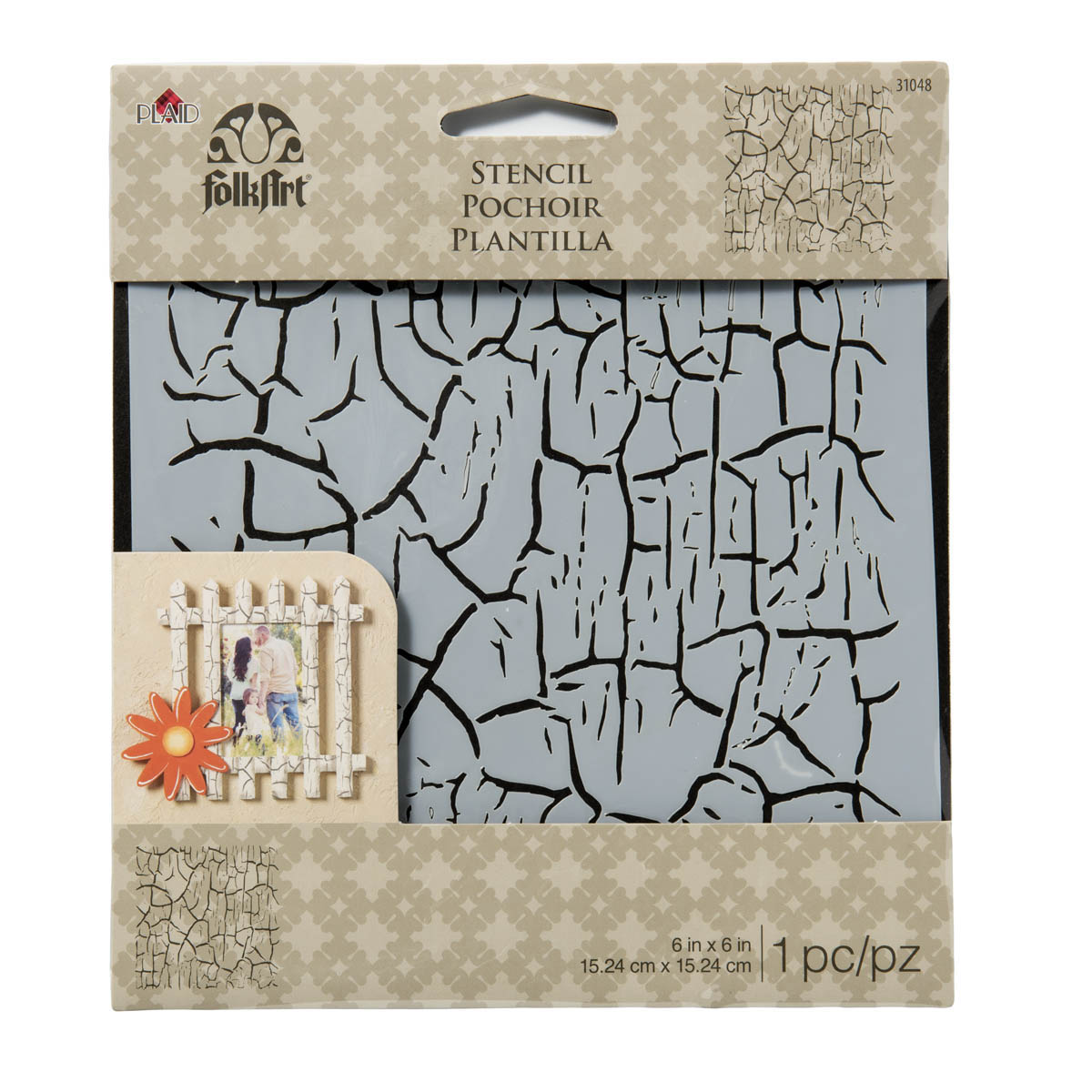 FolkArt ® Painting Stencils - Small - Crackle - MS31048