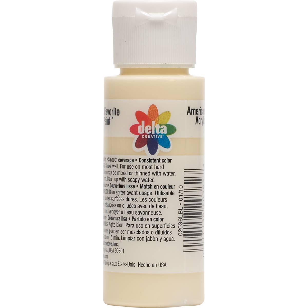 Delta Ceramcoat ® Acrylic Paint - Ivory, 2 oz. - 020360202W