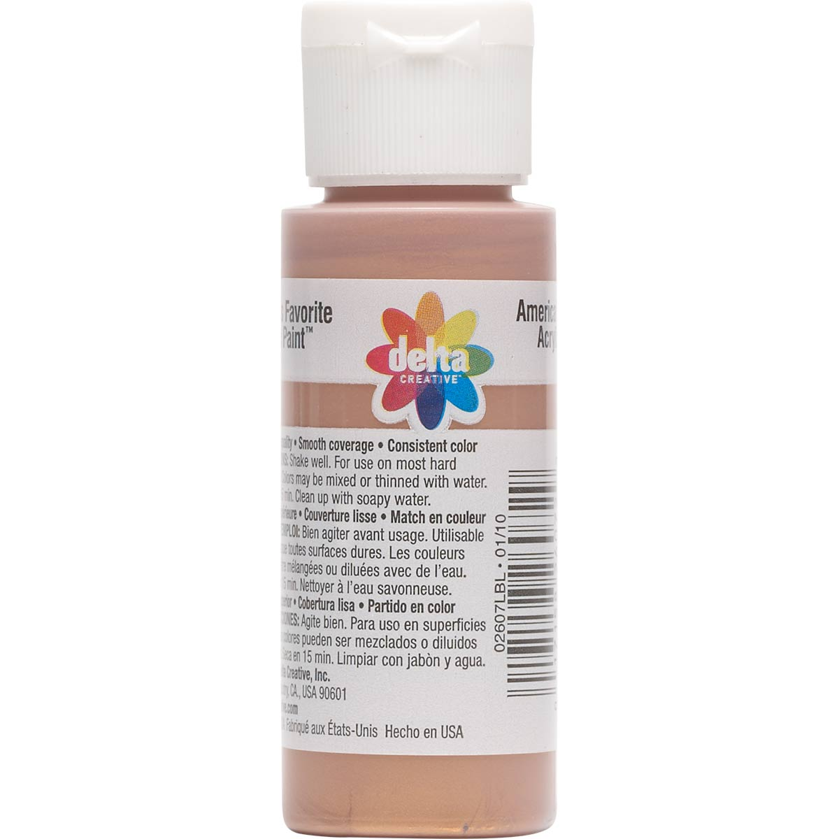 Delta Ceramcoat ® Acrylic Paint - Metallic Copper, 2 oz. - 026070202W