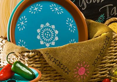 Handmade Charlotte Bohemian Clay Platters