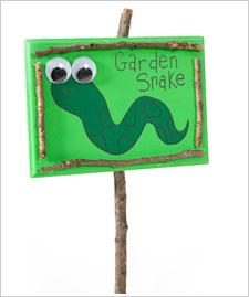 Garden Snake Sign