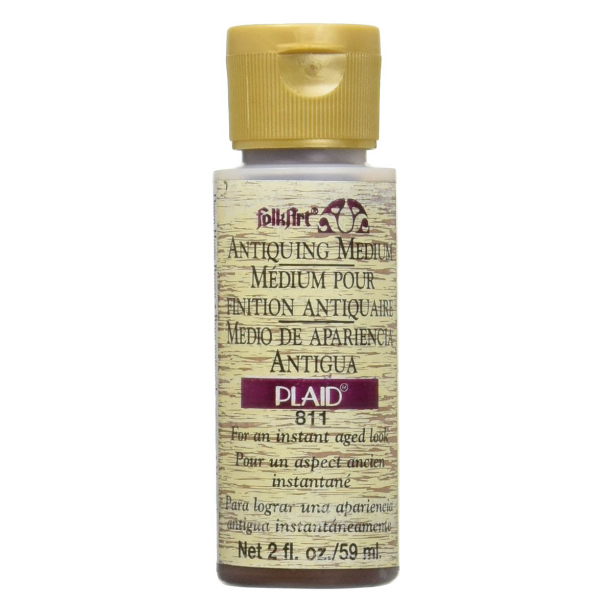 FolkArt ® Mediums - Antiquing Medium - Down Home Brown, 2 oz.