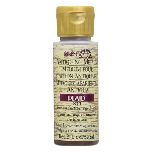 FolkArt ® Mediums - Antiquing Medium - Down Home Brown, 2 oz. - 811