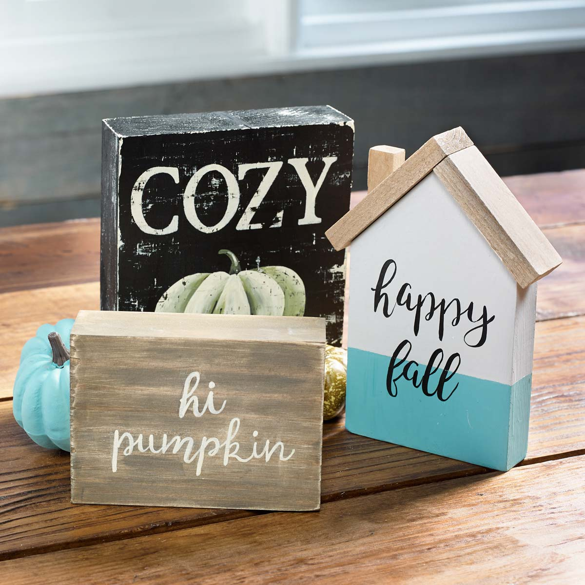 Fall Sign Trio