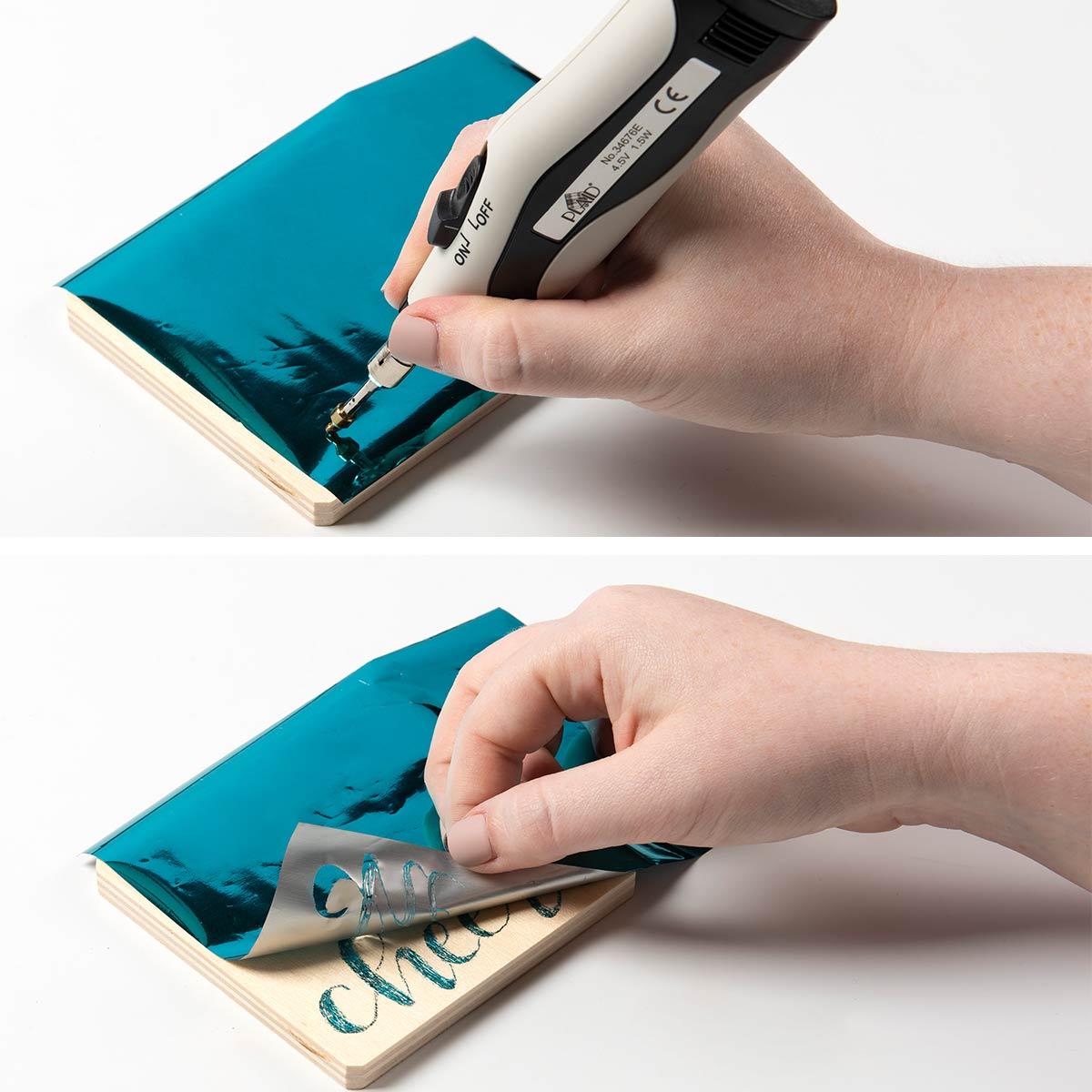 Hot Foil Pen Coasters