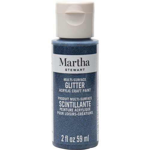 Martha Stewart ® Multi-Surface Glitter Acrylic Craft Paint - Night Sky, 2 oz. - 32184CA
