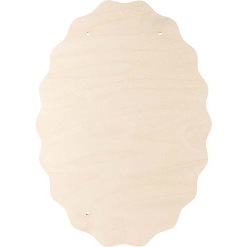 "FolkArt ® One Stroke™ Surfaces - Plaques - Oval, 22-1/2"" x 17"" - 99462"