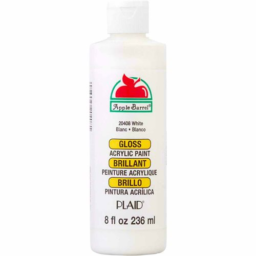 Apple Barrel ® Gloss™ - White, 8 oz. - 20408
