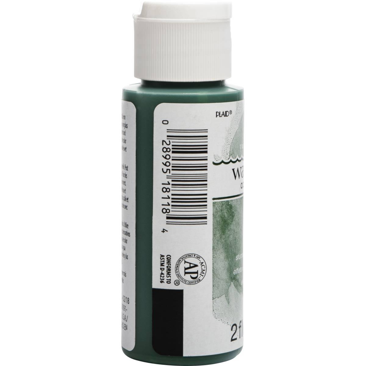 FolkArt ® Watercolor Acrylic Paint™ - Sap Green, 2 oz. - 18118